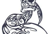Tribal drawings