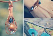 Jewelry / My handmade necklaces.