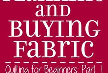 Buying fabric for quilting and how to measure