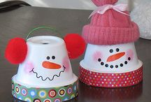 winter/snowman / by Stacy