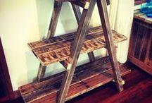 Reclaimed Wood - Furniture / Inspirational ideas for furniture made from reclaimed wood
