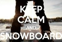 Snowboarding photos