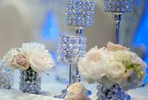 Crystal Centerpiece Hire / These crystal centrepieces can add sparkle and add drama to your wedding venue, and create an elegant and sophisticated look, something your wedding guests will notice and love.