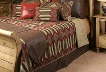 Biancheria da letto stile rustico