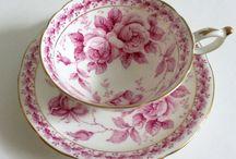 cups, mugs, tea pots etc..
