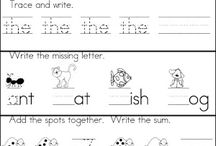 Summertime learning worksheets / by Cindy Shultz