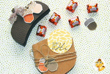 Fall Papercrafts / When the temperature starts to cool down, head inside and get crafting!