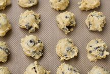 Freeze and bake cookies