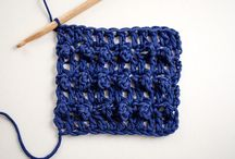 Crochet - Stitches / A collection of crochet stitches and stitch tutorials.