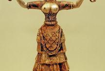 Af club Minoan civilazition (fashion,hair,makeup,jewlerly)