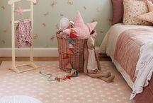 papeles pintados para habitacion bebe niña