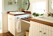 Better Homes and Gardens Inspiration Board / Bathroom ideas for makeover