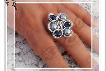 anelli in filo di alluminio