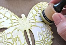 Die cutting/embossing / by Anita Bownds