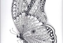 Colouring pages / Butterfly