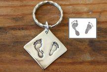 Silver Key Rings