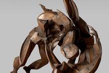 Sophie dickens sculptures  / Life size sculptures