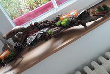 My oven autumn's decoration / Zde jsou výrobky vlastní výroby, každý kousek je originál