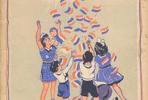Antieke Kinderboeken / Antieke Kinderboeken van www.boekenstek.nl