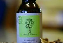 Jojoba Oil / Camphill Village grows jojoba beans bio-dynamically, and produces a pure natural organic jojoba oil, made with love.
