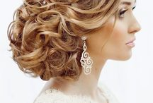 Curly updos / Hair