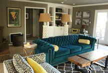 Teal Couch Inspiration