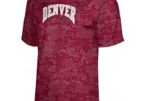 University of Denver / Go Pioneers! Show off your school pride in our comfortable sweaters and shirts for men and women! Got spirit? See more at www.sportswearunlimited.com