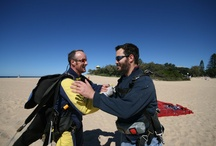 Beach Landing Zones of Sunshine Coast Skydivers