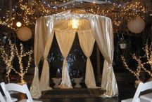 """Gazebo Design Ideas for Weddings / Gazebos offer a romantic setting for any wedding. Here are a collection of gazebos that would be the perfect spot to say """"I do""""."""