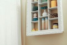 storage spaces and ideas / by Linda Hurst