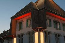 Примеры архитектурного освещения