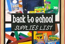 Back to School (or Back to Homeschool) / No matter how your kids get educated, this board is here to help you make the most of back to school!  We have it all from printables to teach to printables to organize. From recipes to savings!