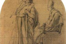 David - Napoleon / Capolavori di Jacques Louis David su Napoleone Bonaparte