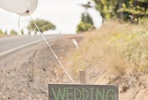 ❤️ Weddings Signs - Wegweiser!