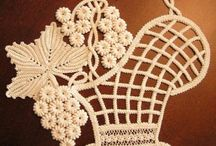 KORONKA IRLANDZKA - Serwetki i dekoracje