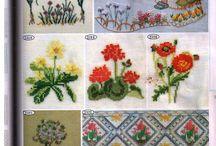 handmade embroidery / vyšívání