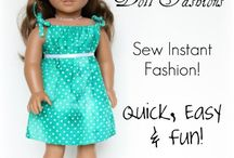 Doll clothes pattern / by Mary Anne Vooren