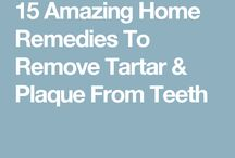 Tooth remedies