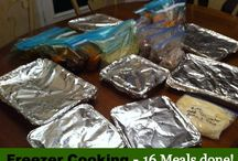 Freezer Cooking / Freezer Cooking Recipes and Freezer Cooking Tips
