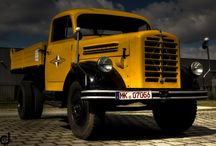 Legendary & Oldtime BORGWARD Trucks / Legendary & Oldtime trucks,of the extincted German brand BORGWARD.