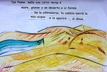 Il fiume e il deserto, novella sufi / Il fiume e il deserto