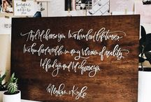 Calligraphy / Handlettering