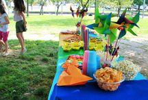 Real party tema Rainbow / Festa di compleanno Lara 8 anni tema arcobaleno