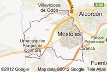 Mostoles / Lugar de mi residencia en Madrid-España