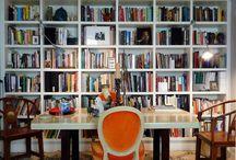 bookshelves / by Kelly