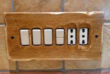 rustico / placche in legno anticate per ambienti rustici