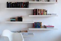 bookshelves / könyvespolc ötletek