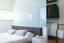안방 가벽뒤 드레스룸