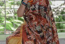 Batik Silk Saree collection. / Buy this beautiful saree for ₹5800 here: