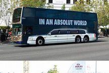 Kreative Designs in der Werbung